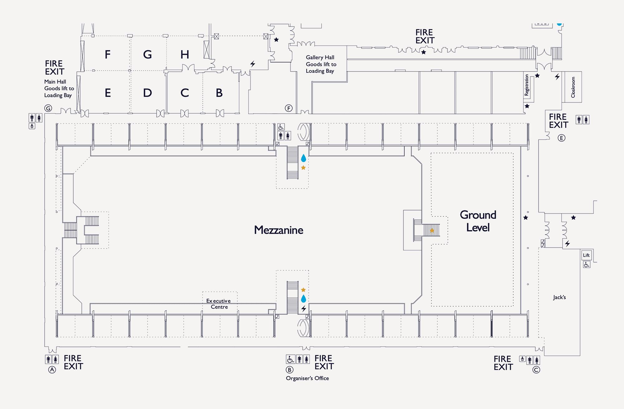 Floorplan Mezzanine