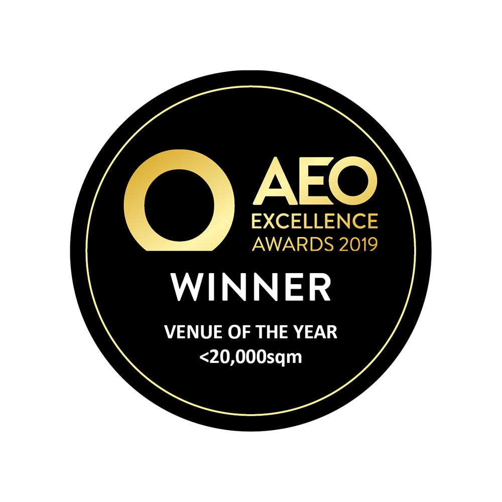 AEO Excellent Awards 2019 Winner Venue of the Year