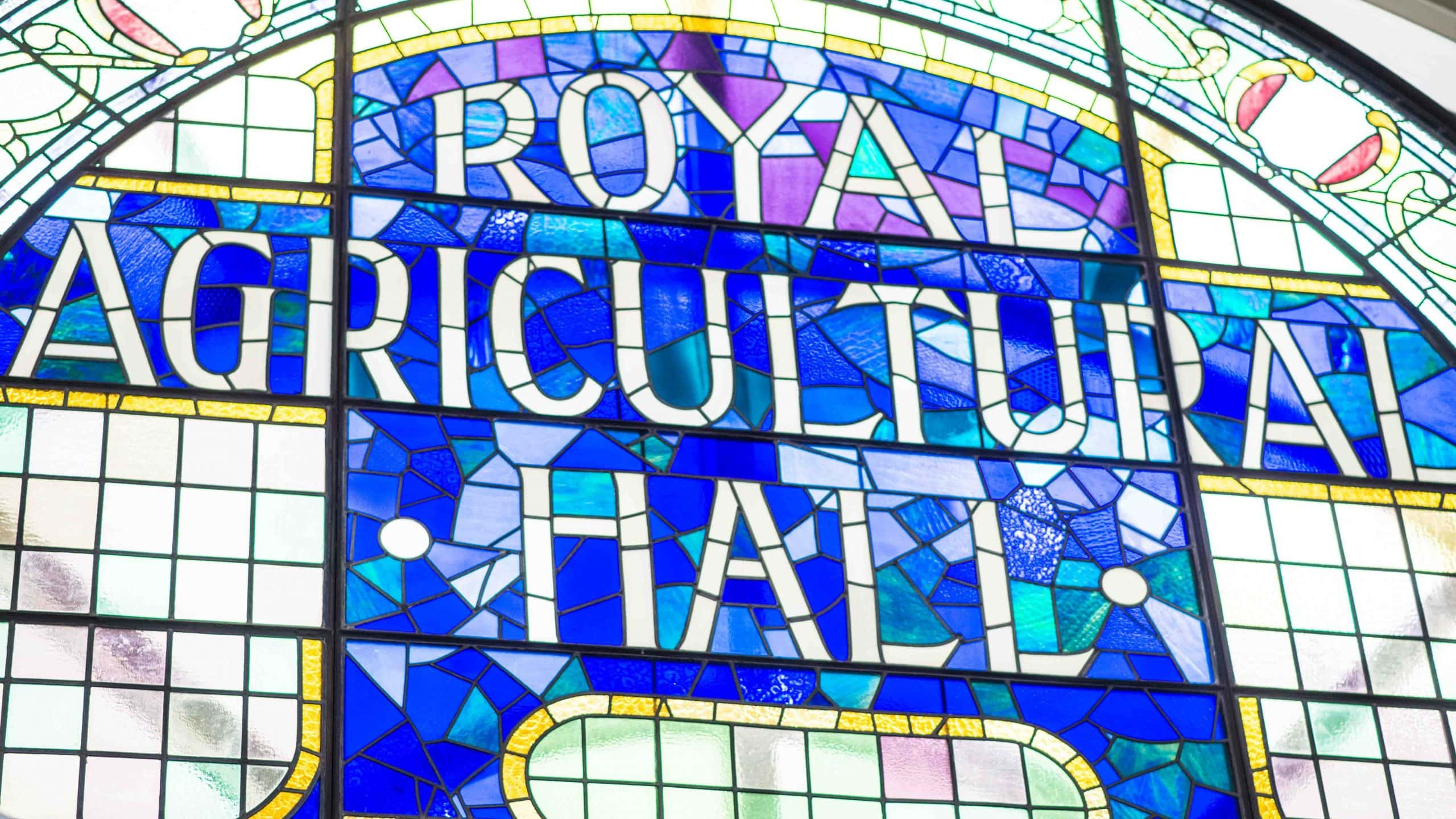 history of the business design centre royal agricultural hall sign