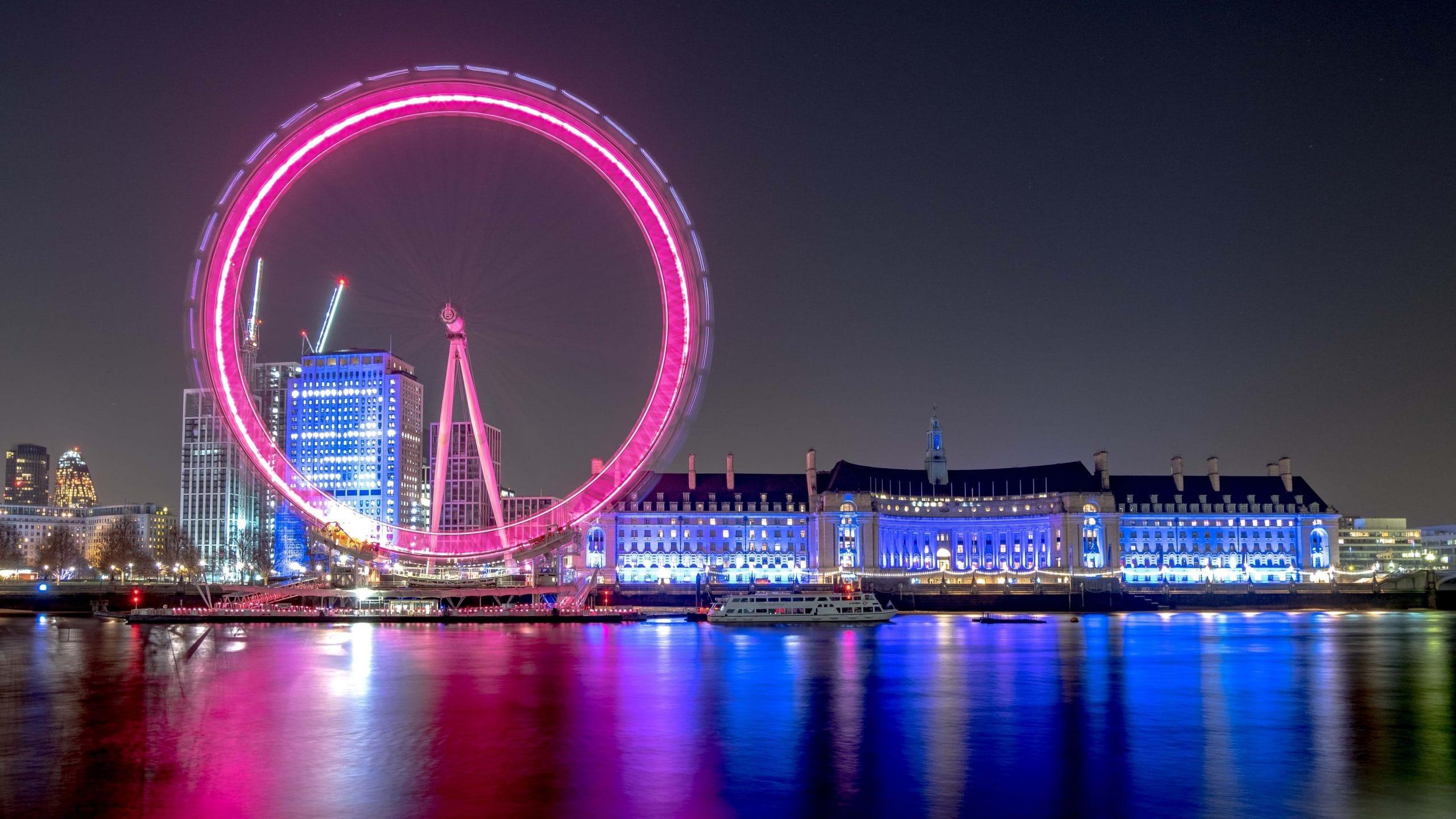 The London Eye Famous London Landmarks